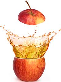 Apple exploding