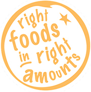 Right foods in right amounts